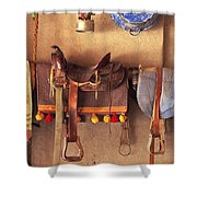 Saddle Up Shower Curtain