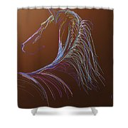 Saddlebred Shower Curtain
