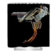 Saddled Shower Curtain