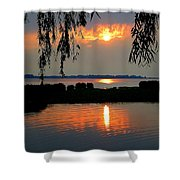 Sadness At Days End Shower Curtain