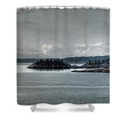 Safe From Harm Shower Curtain