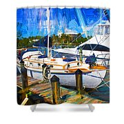Safe Harbor Series 09 Shower Curtain