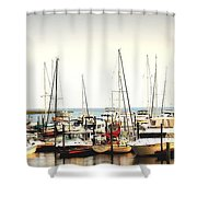 Safe Resting Place Shower Curtain