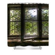 Safe Window Shower Curtain