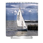 Safely Back To Harbour Shower Curtain