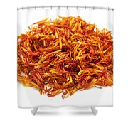 Saffron Shower Curtain