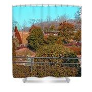 Sagamihara Asamizo Park 16f Shower Curtain