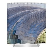 Sage Gateshead Roof Close Up Shower Curtain