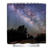 Sagittarius And Scorpius From Arizona Shower Curtain