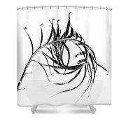 Sago Swirl Shower Curtain