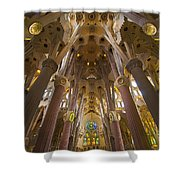 Sagrada Familia IIi Shower Curtain