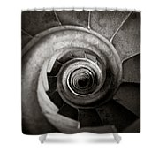Sagrada Familia Steps Shower Curtain