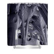 Sagrada Familia Vault Shower Curtain