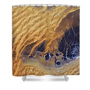Sahara Desert, Algeria Shower Curtain
