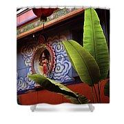 Saigon Temple Shower Curtain
