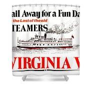 Sail Away For A Fun Day Shower Curtain