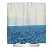 Sail Cool Blue Shower Curtain