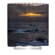 Sail Rock Sunrise 2 Shower Curtain