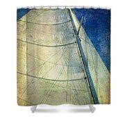 Sail Texture Shower Curtain