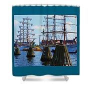 Sailabration Baltimore Shower Curtain