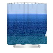 Sailboat 1 Shower Curtain
