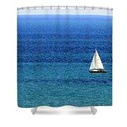 Sailboat 2 Shower Curtain