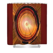 Sailboat Abstract Shower Curtain