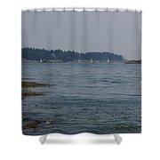 Sailboat Heaven Shower Curtain