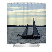 Sailin Shower Curtain