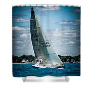 Sailing 97045 Shower Curtain