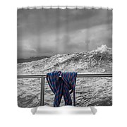 Sailing Around South West Cape Of Tasmania Shower Curtain