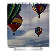 Sailing At First Light Shower Curtain