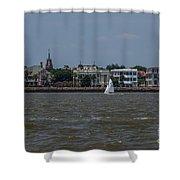 Sailing Class Shower Curtain
