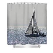 Sailing Free Shower Curtain