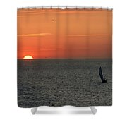 Sailing From The Sun Shower Curtain