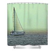 Sailing Home Shower Curtain