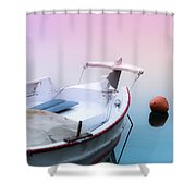 Sailing In A Sea Of Colors  Shower Curtain