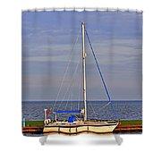 Sailing In Volendam Shower Curtain