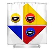 Sailing Six Shower Curtain