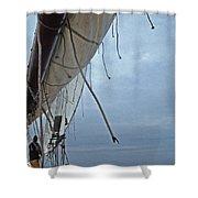 Sailing Skipjack Shower Curtain