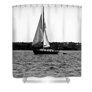 Sailing The Bay Shower Curtain