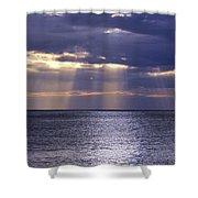 Sailing Through The Sun Rays 2. Shower Curtain