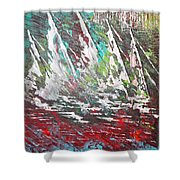 Sailing Together - Sold Shower Curtain