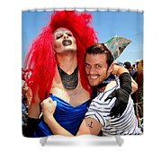 Sailor On Leave Shower Curtain