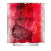 Sailor Take Warning Photo Art 01 Shower Curtain