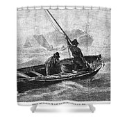 Sailors, 1880 Shower Curtain