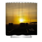 Sailors Muster For Quarters Shower Curtain