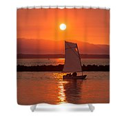 Sailors Solitude 1 Shower Curtain