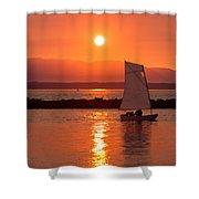 Sailors Solitude 2 Shower Curtain