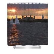 Sailray Shower Curtain